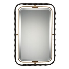 Quoizel Reflections Rectangle 25-Inch Mirror