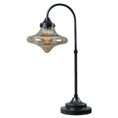 Kenroy Home Rain Drop Warm Bronze Table Lamp