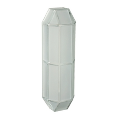 Frosted Glass Outdoor Wall Light by Besa Lighting