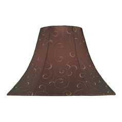 Bell Lamp Shade with Spider Assembly