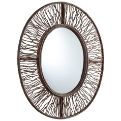 Rossi Oval 29-Inch Mirror