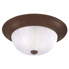Savoy House Brownstone Flushmount Light