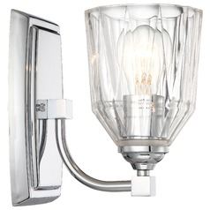 Minka D'or Chrome Sconce