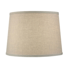 Beige Drum Lamp Shade with Spider Assembly