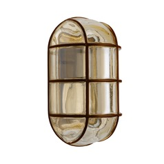 Besa Lighting 3961 Bronze with a Warm Smoke Tint Outdoor Wall Light
