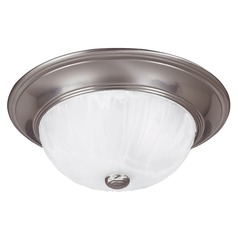 Savoy House Satin Nickel Flushmount Light