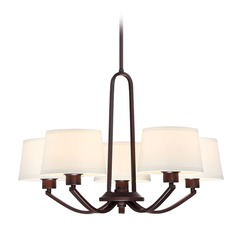 Designers Fountain Studio Satin Bronze Chandelier