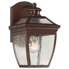 Minka Sunnybrook Alder Bronze Outdoor Wall Light