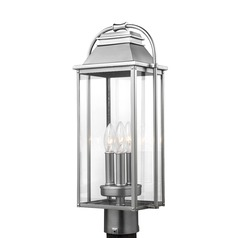 Feiss Lighting Wellsworth Painted Brushed Steel Post Light