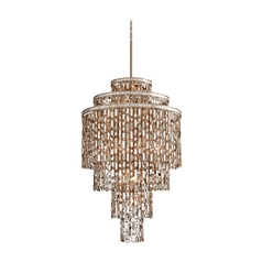 Corbett Lighting Dolcetti Silver Island Light