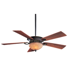 Minka Aire Fans 52-Inch Ceiling Fan with Five-Blades and Light Kit F701-DRB