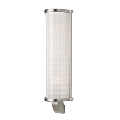 Hudson Valley Lighting Arcadia Satin Nickel Sconce
