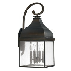 Capital Lighting Westridge Old Bronze Outdoor Wall Light