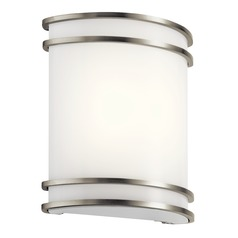 Transitional LED Sconce Brushed Nickel by Kichler Lighting
