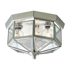 Progress Outdoor Ceiling Light with Clear Glass