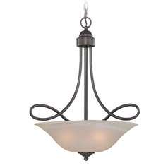 Jeremiah Cordova Old Bronze Pendant Light with Bowl / Dome Shade