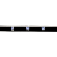 24V LED Tape Light 12-Inch Blue by WAC Lighting