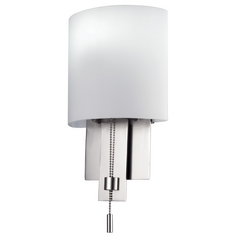 Kalco Lighting Espille Satin Nickel Sconce