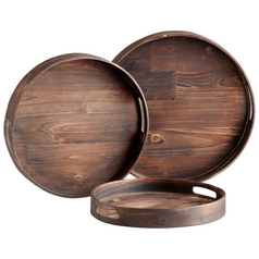 Cyan Design Dupre Walnut Tray
