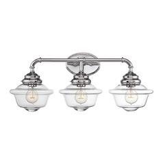 Savoy House Lighting Fairfield Chrome Bathroom Light
