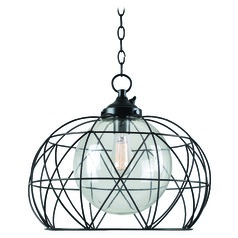 Kenroy Home Cavea Oil Rubbed Bronze Outdoor Hanging Light