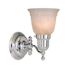 Swing Arm Chrome Sconce by Vaxcel Lighting