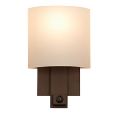 Kalco Lighting Espille Bronze Switched Sconce