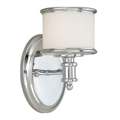 Carlisle Chrome Sconce by Vaxcel Lighting