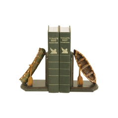 Camp Canoes Decorative Bookends