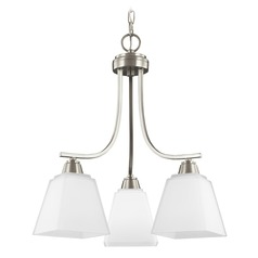 Sea Gull Lighting Parkfield Brushed Nickel LED Mini-Chandelier