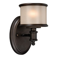 Carlisle Noble Bronze Sconce by Vaxcel Lighting