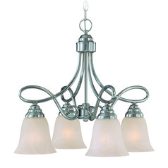 Craftmade Cordova Satin Nickel Mini-Chandelier