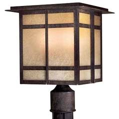 13-1/2-Inch Outdoor Post Light