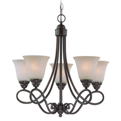 Craftmade Cordova Old Bronze Chandelier