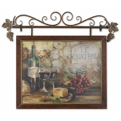 Uttermost Lighting Wall Art in Multi-Color Finish 50964