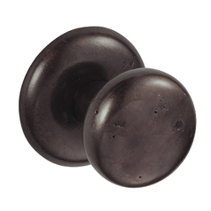 Sand Cast Half-Round Door Knob Passage Set