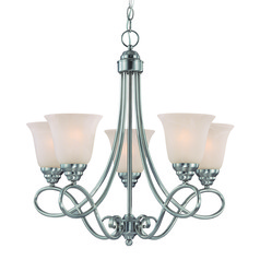 Craftmade Cordova Satin Nickel Chandelier
