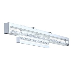 Eglo Cardito Vanity Chrome LED Vertical Bathroom Light