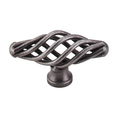 Cabinet Knob in Pewter Finish