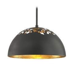 Industrial Pendant Light Black