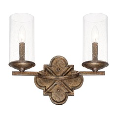 Capital Lighting Avanti Rustic Bathroom Light