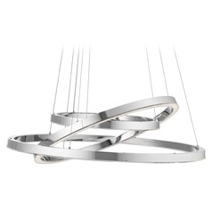 Elan Lighting Opus Chrome LED Pendant Light