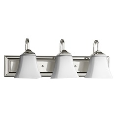 Quorum Lighting Polished Nickel Bathroom Light