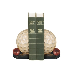 Golf Tee Decorative Bookends