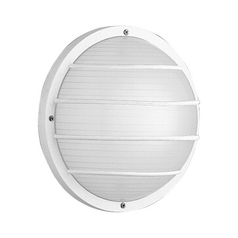 Progress Outdoor Wall Light with White in White Finish