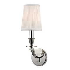 Hudson Valley Lighting Avalon Polished Nickel Sconce