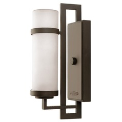 Hinkley Lighting Cordillera Buckeye Bronze Outdoor Wall Light