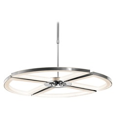 Elan Lighting Cykel Chrome LED Chandelier
