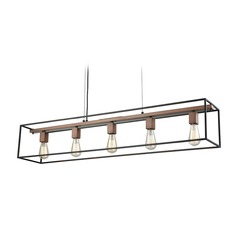 Elk Lighting Rigby Oil Rubbed Bronze / Brass Island Light