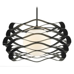 Modern Pendant Light Black